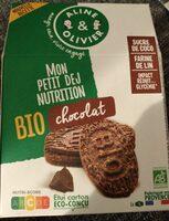 Mon petit dej nutrition chocolat - Product - fr