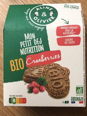 Mon petit dej nutrition Cranberries - Product - fr