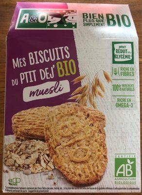 Mes biscuits du ptit dej' - Produit