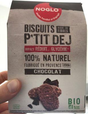 Biscuits P'TIT DEJ Chocolat - Produit