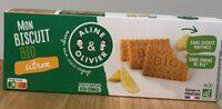 Mon biscuit BIO citron - Product - fr