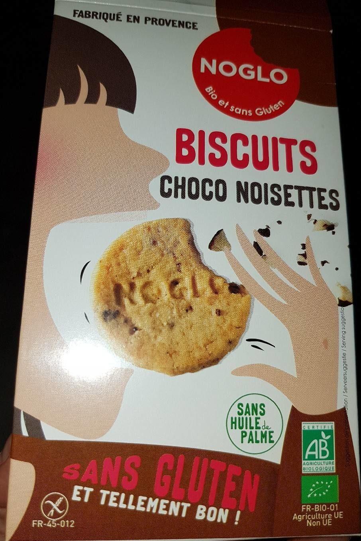 Biscuits choco noisettes - Produit - fr
