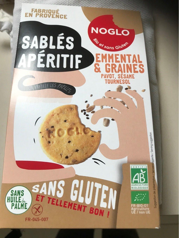 Sables aperitif emmental er graines - Produit