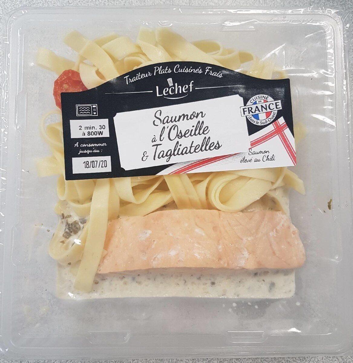 Saumon à l'Oseille & Tagliatelles - Product - fr