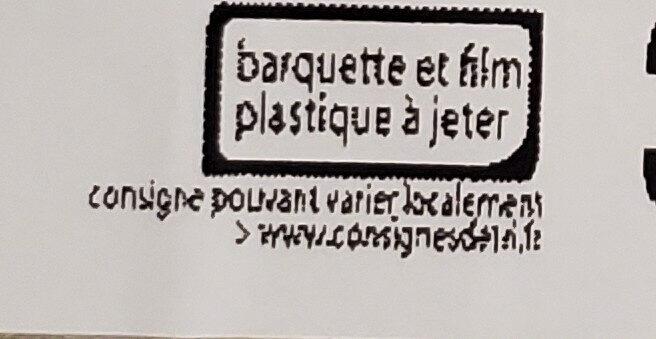 Poulet & Rostis sauce emmental & parmesan - Istruzioni per il riciclaggio e/o informazioni sull'imballaggio - fr