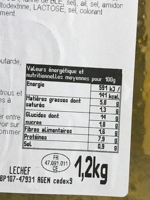 Paella royale - Ingrediënten - fr