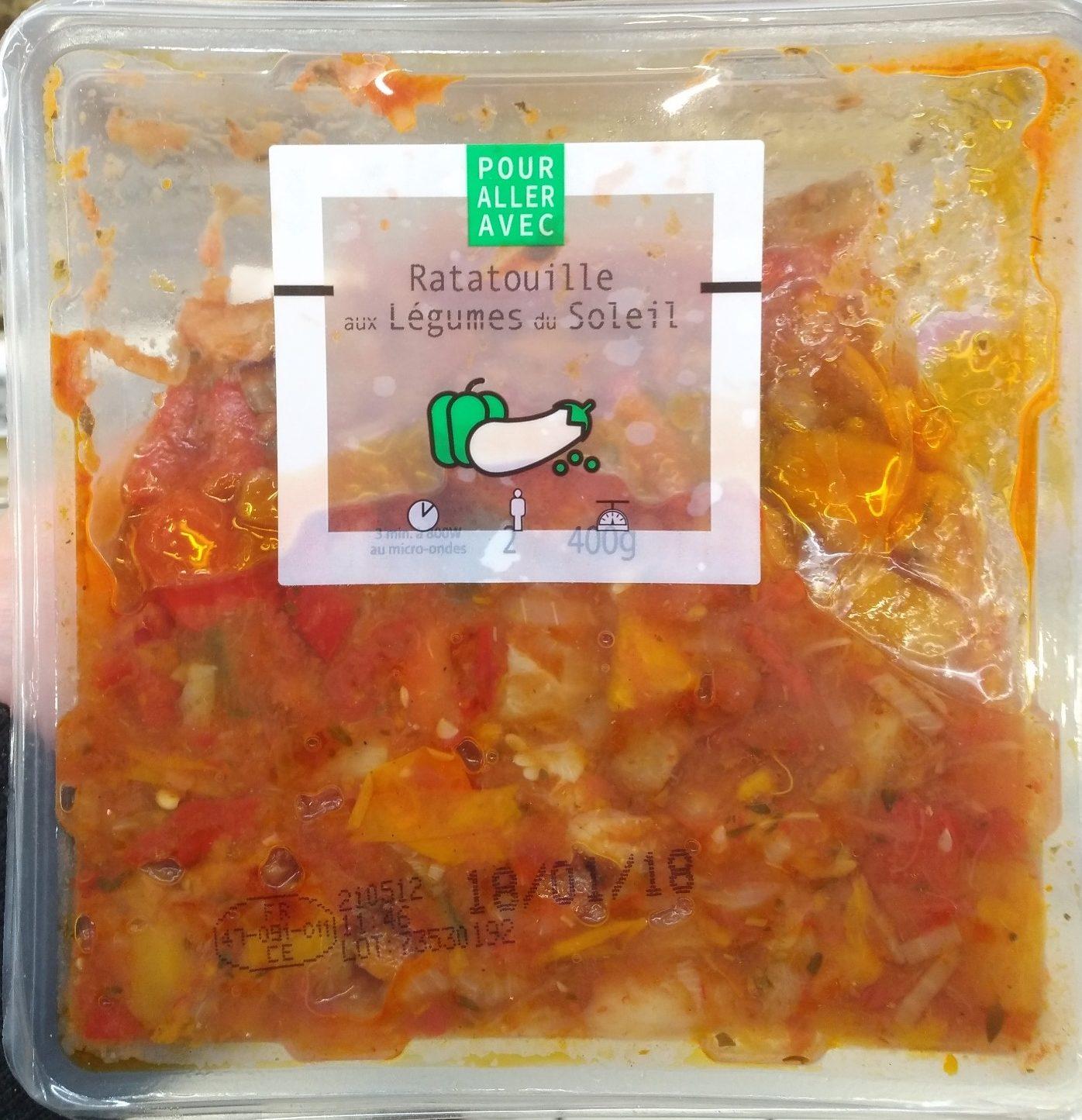 Ratatouilles aux Légumes du Soleil - Product - fr