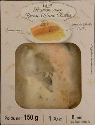 Saumon sauce beurre blanc chablis - Produit - fr