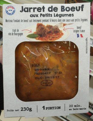 Jarret De Bœuf Aux Petits Légumes - Product - fr