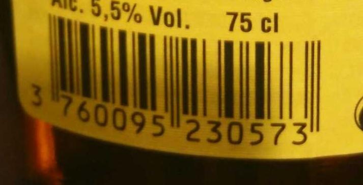 Bière blonde - Nutrition facts