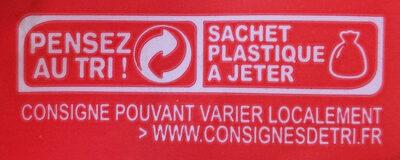 Endives - Istruzioni per il riciclaggio e/o informazioni sull'imballaggio