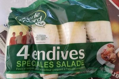 4 endives spéciales salade - Produit - fr
