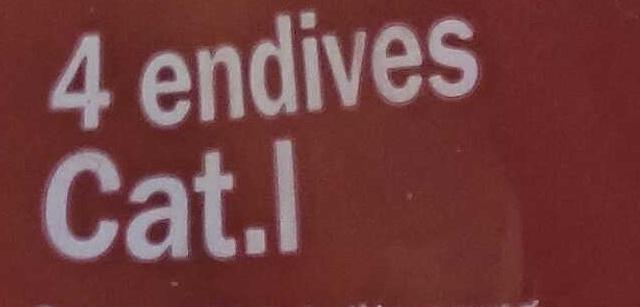 4 endives spéciales four - Ingrédients - fr