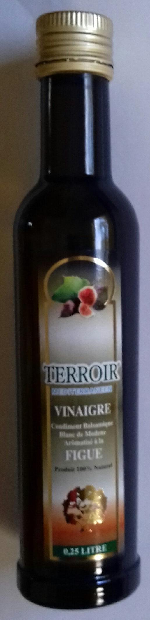vinaigre condiment balsamique aromatisé à la figue - Product - fr
