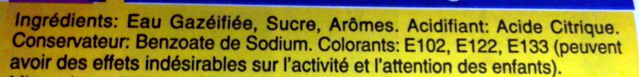 Tropi raisin - Ingrediënten