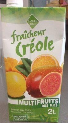 Fraîcheur Créole - Multifruits des îles - Prodotto - fr