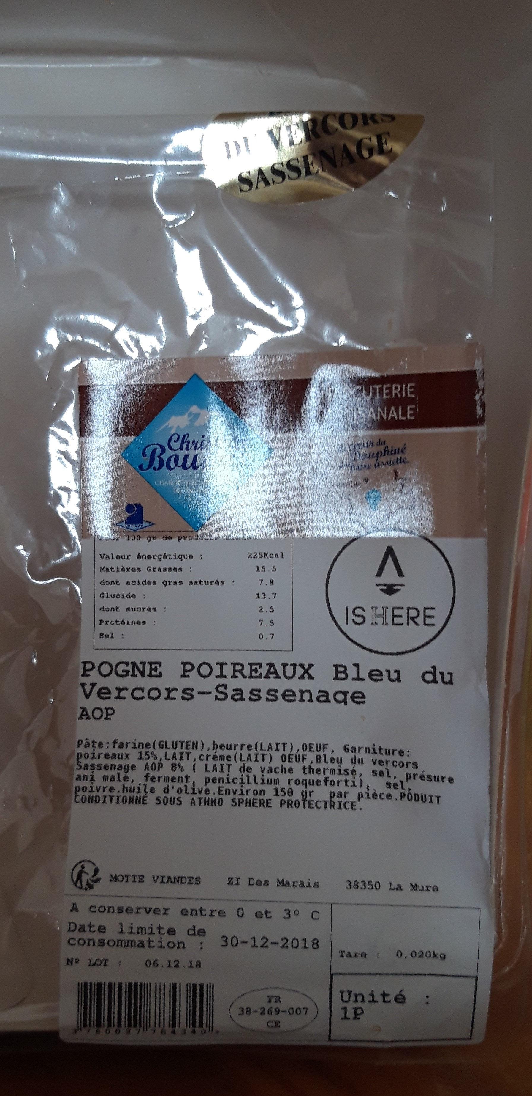 en ligne poireaux Bleu du Vercors Sassenage - Product - fr