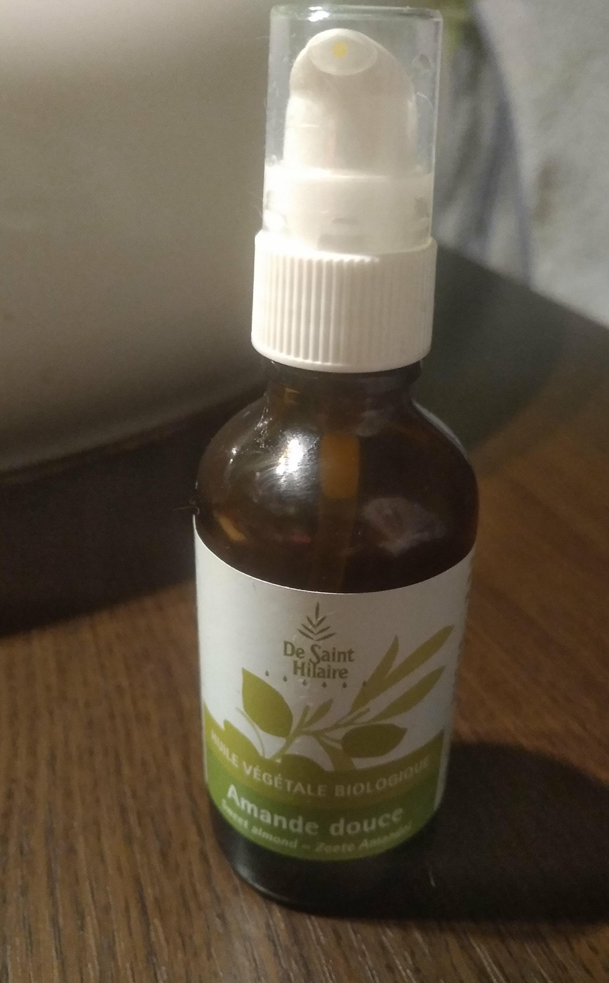 huile végétale biologique Amande douce - Product