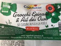 Gnocchi Epinard & Ail des Ours - Produit - fr