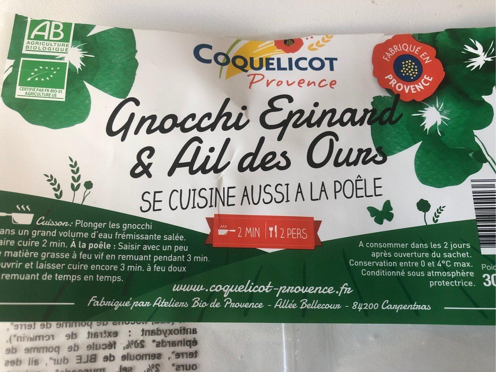 Gnocchi Epinard & Ail des Ours - Instruction de recyclage et/ou informations d'emballage - fr