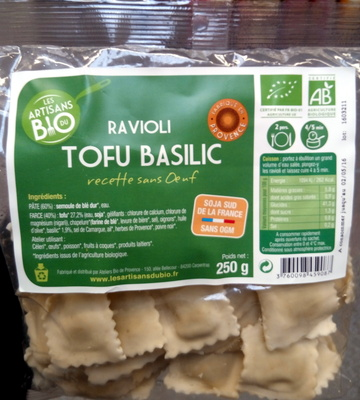Ravioli Tofu Basilic - Produkt - fr