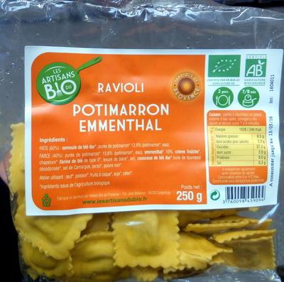 Ravioli Potimarron Emmenthal - Produit - fr