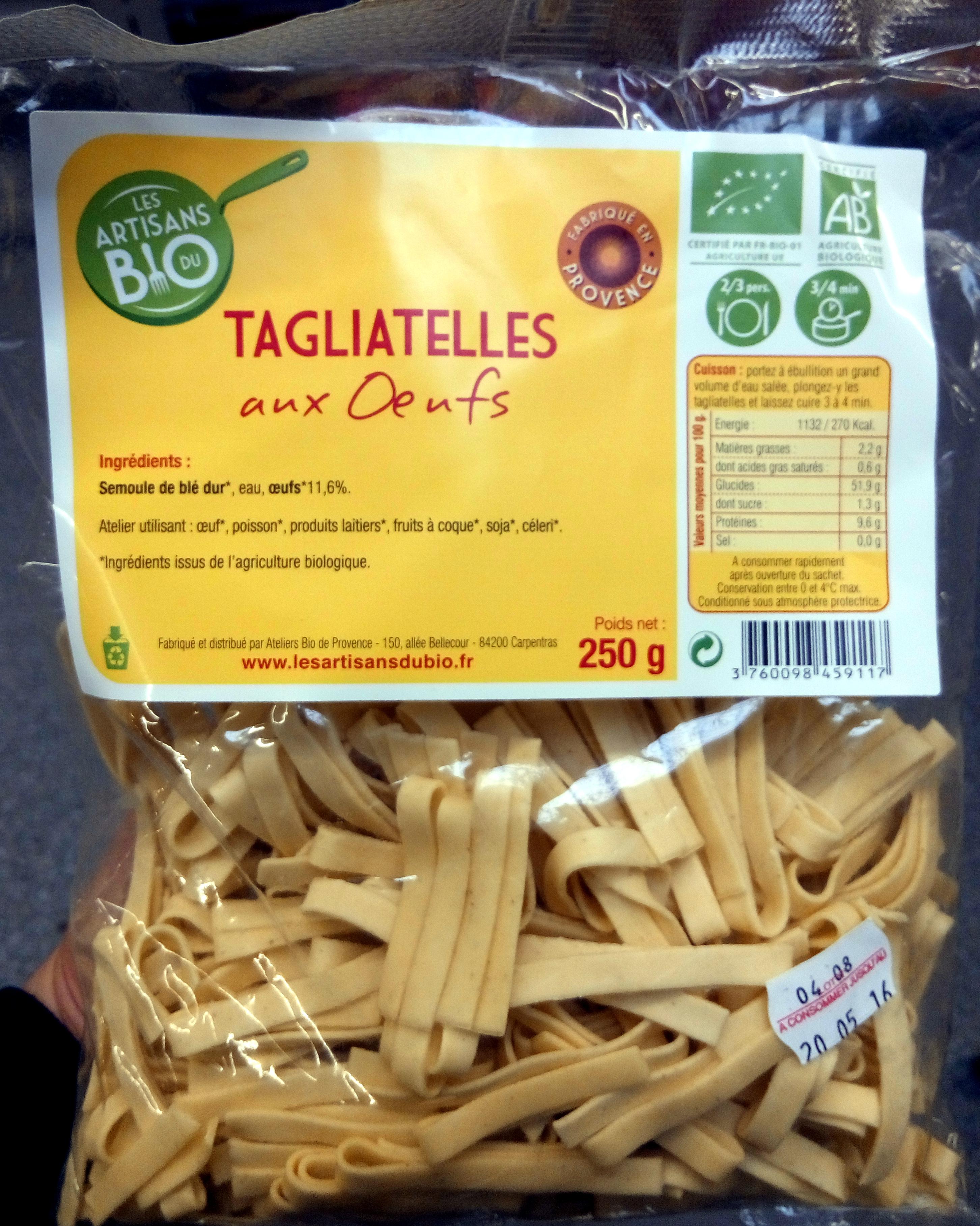 Tagliatelles aux œufs - Produit - fr