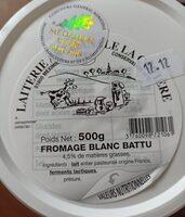 Fromage blanc battu - Product - fr
