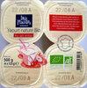 Yaourt nature au lait entier - Prodotto