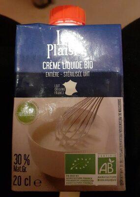 Crème liquide bio - Produit - fr