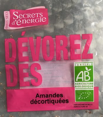 AMANDES DECORTIQUEES - Product