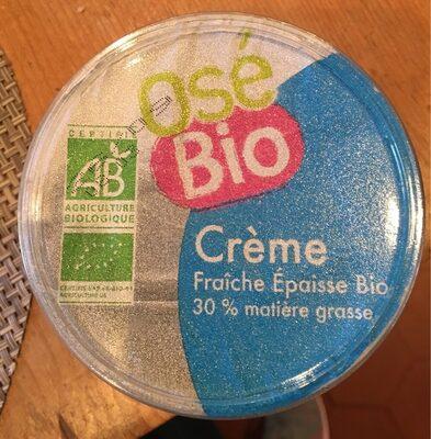 Frais & Primeur / Crèmerie / Crèmes Fraiches Bio - Produit - fr