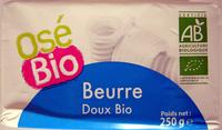 Beurre Doux Bio - Produit - fr