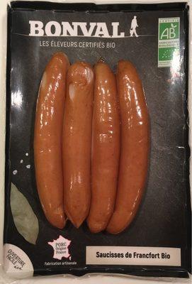 Saucisses de Francfort Bio - Product