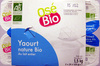 Yaourt nature Bio (Au lait entier) 12 Pots - Product