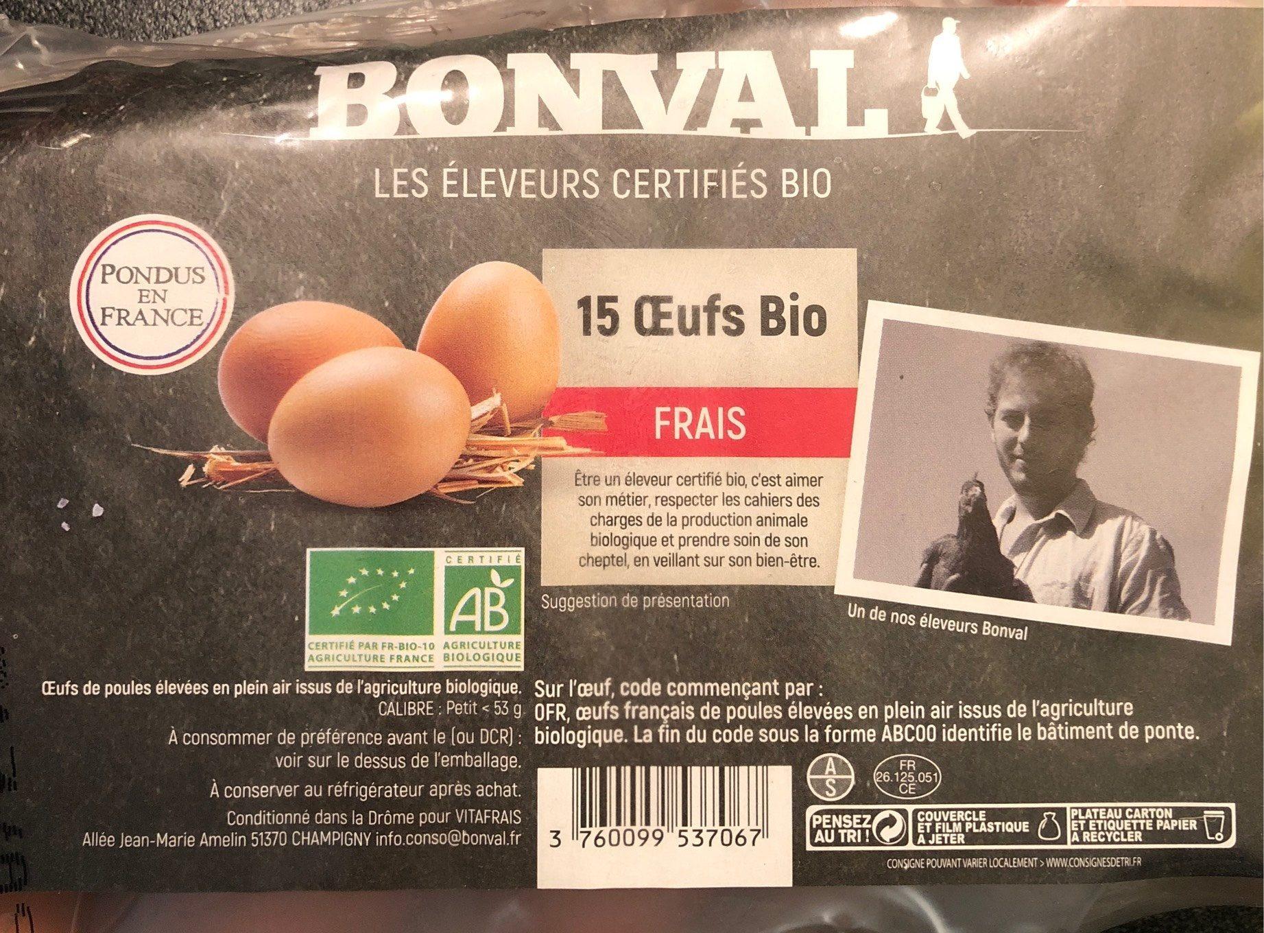 15 Oeufs Petit 45-3 - Product