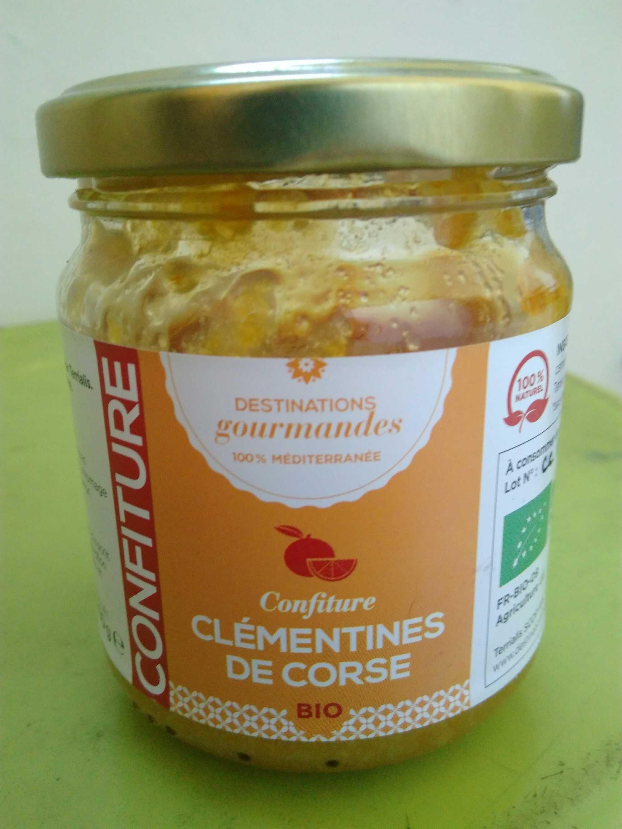 Confiture Clémentine de Corse - Product