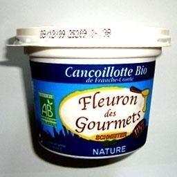 Cancoillotte nature biologique, le pot de - Product - fr