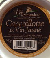 Cancoillotte au vin jaune - Product - fr
