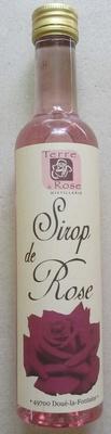Sirop de Rose - Producto