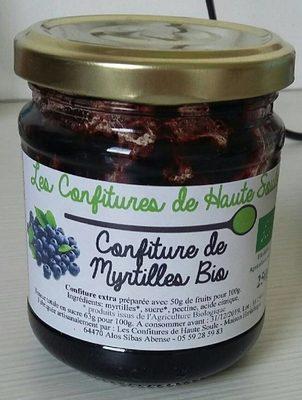 Confiture de Myrtilles Bio - Product