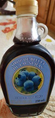 Sirop de bleuet du lac st-jean - Produit - fr