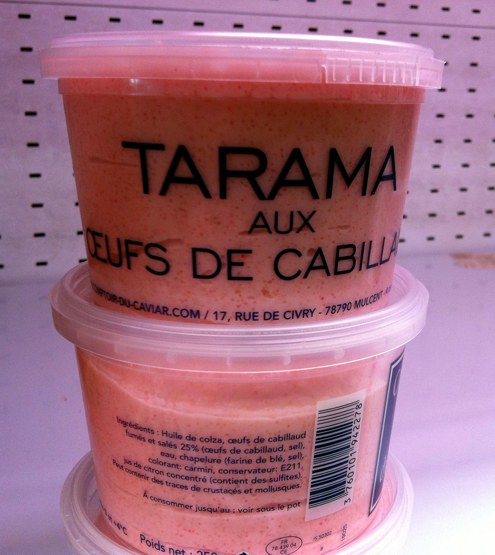 Tarama aux œufs de cabillaud (25 %) - Product