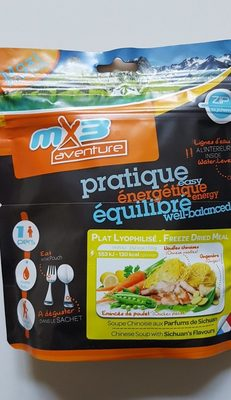 Soupe chinoise - Ingredients - fr