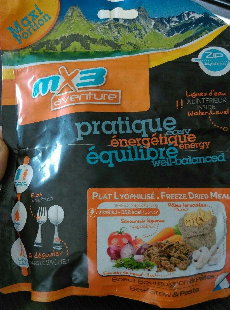 Boeuf bourguignon et pâtes - Product - fr