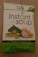 Crémé de Poireaux Pommes de terre - Produit
