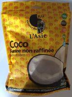Farine de coco non raffinée - Produit - fr