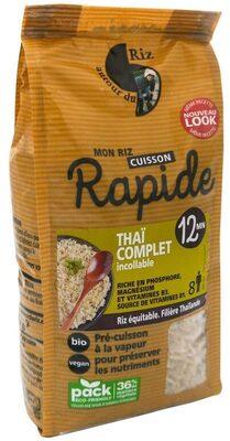 Riz thaï complet étuvé - Prodotto - fr