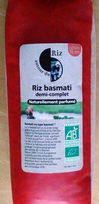 Riz Basmati Demi-Complet - Product - fr