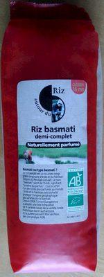 Riz Basmati Demi-Complet - Product